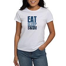 EAT SLEEP SWIM Tee