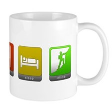 Eat, Sleep, Climb Mug