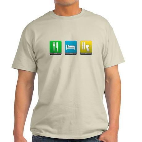 Eat, Sleep, Lift Light T-Shirt