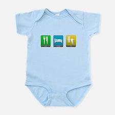 Eat, Sleep, Lift Infant Bodysuit