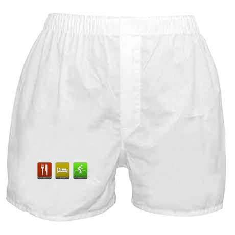 Eat, Sleep, Bike Boxer Shorts