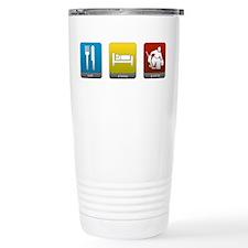 Eat, Sleep, Goalie Travel Mug