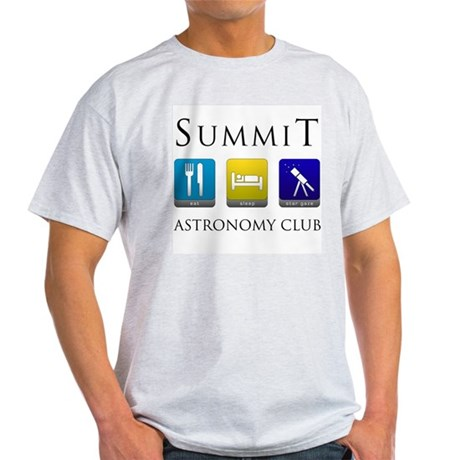Summit Astronomy Club - Stargaze Light T-Shirt
