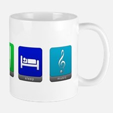 Eat, Sleep, Music Mug