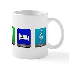 Eat, Sleep, Music Mug