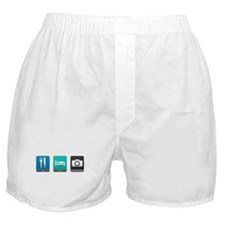 Eat, Sleep, Photography Boxer Shorts