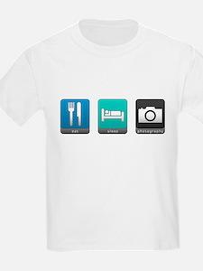 Eat, Sleep, Photography T-Shirt