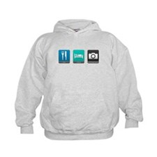 Eat, Sleep, Photography Hoodie