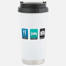 Eat, Sleep, Photography Travel Mug