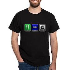 Eat, Sleep, Spin T-Shirt