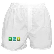 Eat, Sleep, Chemistry Boxer Shorts