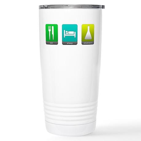 Eat, Sleep, Chemistry Stainless Steel Travel Mug