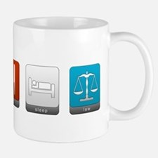 Eat, Sleep, Law Mug