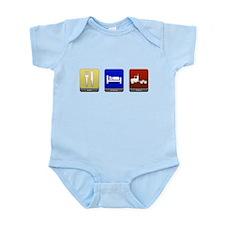 Eat, Sleep, Haul Infant Bodysuit