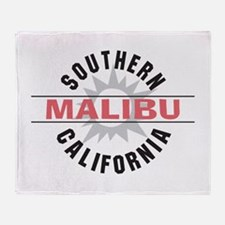 Malibu California Throw Blanket