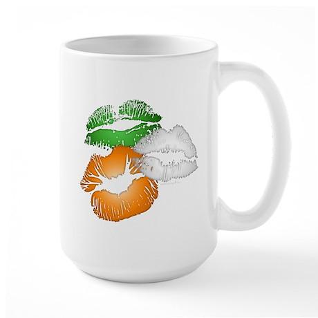 Irish Kisses Large Mug