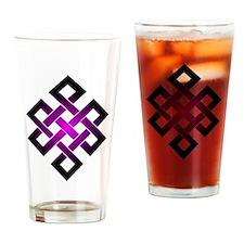 Cute Coexist symbol Drinking Glass