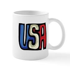 Red, White and Blue USA Mug
