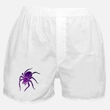 Purple Spider Boxer Shorts