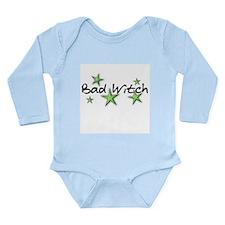 Bad Witch Long Sleeve Infant Bodysuit