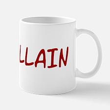 Red VILLAIN Mug
