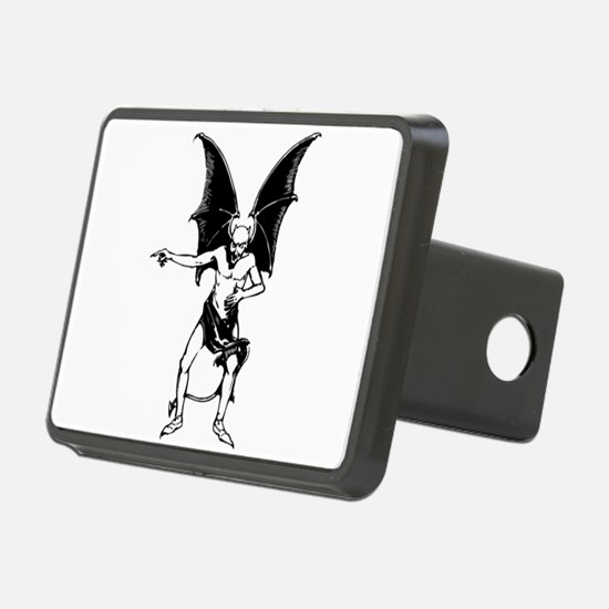 Vintage Pointing Devil Hitch Cover