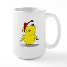 Santa Chick Mug