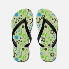 Music Themed Flip Flops
