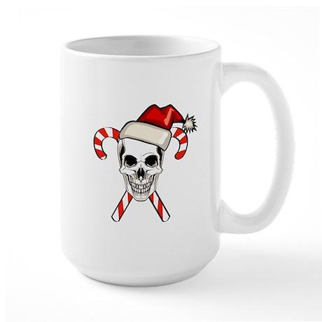 Christmas Skull Large Mug