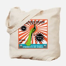Peacock Brand Basmati Rice Tote Bag