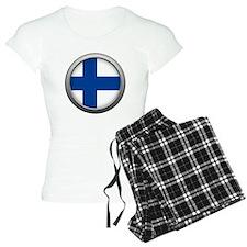 Round Flag - Finland pajamas