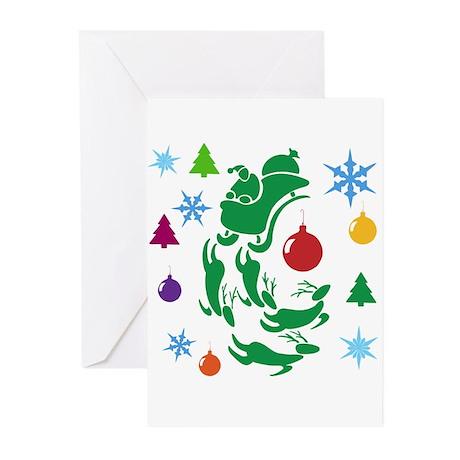 Christmas Design Greeting Cards (Pk of 10)