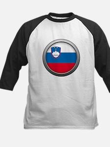 Round Flag - Slovenia Tee