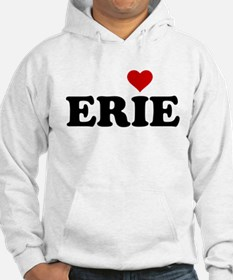 Erie with Heart Hoodie