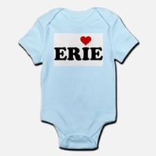Erie with Heart Infant Bodysuit