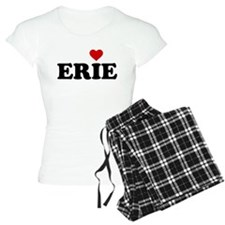 Erie with Heart pajamas