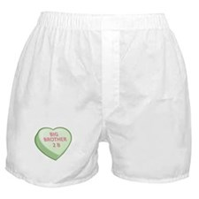 BIG BROTHER 2 B Candy Heart Boxer Shorts