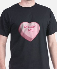 MARRY ME Candy Heart T-Shirt