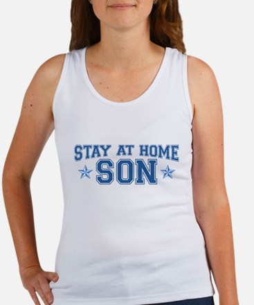 Stay at Home Son Women's Tank Top