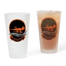 F-14 Tomcat VF-114 Aardvarks Drinking Glass