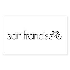 Bike San Francisco Decal