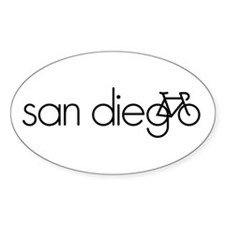 Bike San Diego Decal