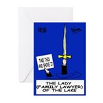 Lady Family Lawyer's Greeting Cards (Pk of 20)