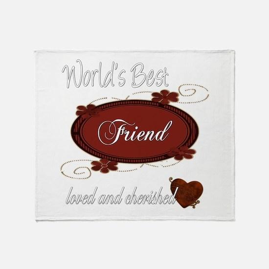 Cherished Friend Throw Blanket