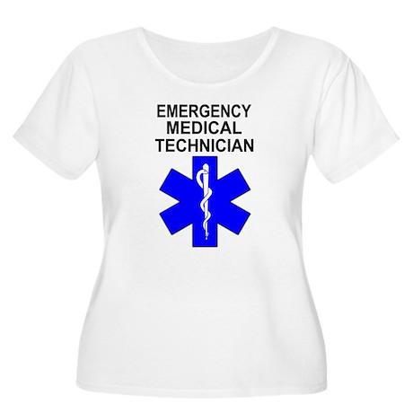 Emergency Medical Technician Women's Plus Size Sco
