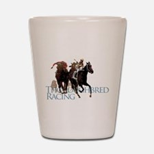 Thoroughbred Racing Shot Glass