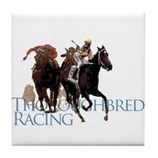 Thoroughbred Racing Tile Coaster
