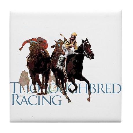 Thoroughbred Racing Tile Coaster