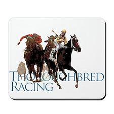 Thoroughbred Racing Mousepad