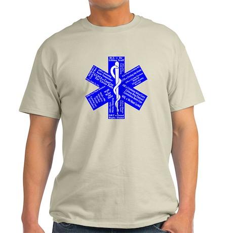 Funny EMS Acronyms Light T-Shirt
